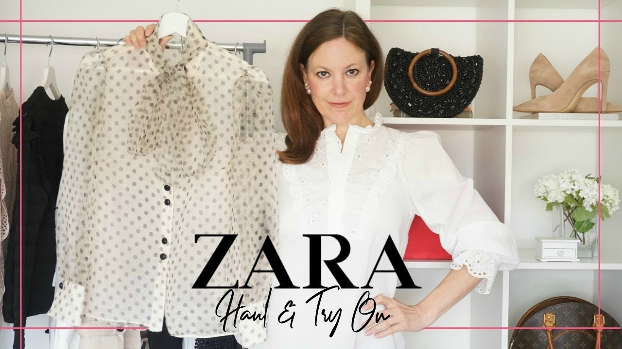 ba1166bef39 Zara Haul and Try On March 2019 ~ PART ONE ~ Mature Women s Fashion ...