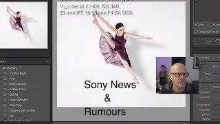 Sony News & Rumours Sony CES Sony a7RIII tether Sigma & Samyang Lightroom CC imac pro Final cut 10.4