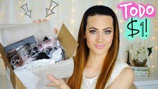 HAUL PRODUCTOS TODO a $1!! Accesorios y Maquillaje Online | Lizy P thumbnail