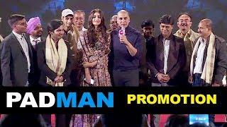 Padman Movie Promotion Full Video HD | Akshay Kumar, Sonam Kapoor