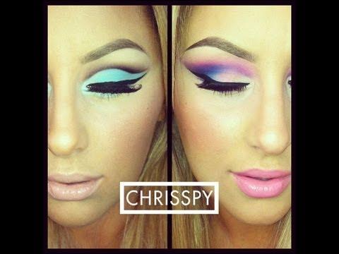 BH Cosmetics 60's Eyeshadow Palette- Two Eye Looks