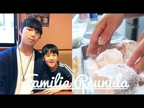 Família Reunida no passeio , bolo gelado super rápido e fofinho -Angela Inoui