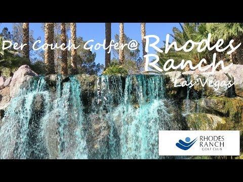 Visiting The Green Waterfalls At Rhodes Ranch Golfclub Las Vegas - 39$ Greenfee