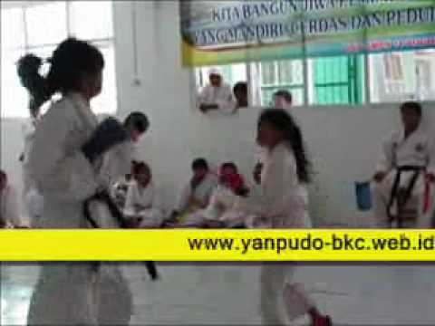 The Karate Kumite of BKC Indonesia - at  class meeting SMPN 14 Bogor