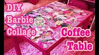 DIY Barbie Collage Coffee Table♡ Azusa Barbie