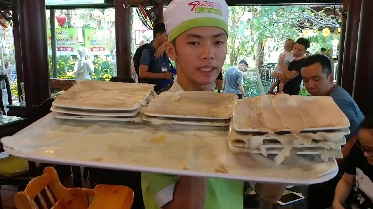 Bánh tráng thịt heo Trần, đặc sản Đà Nẵng ngon bá cháy