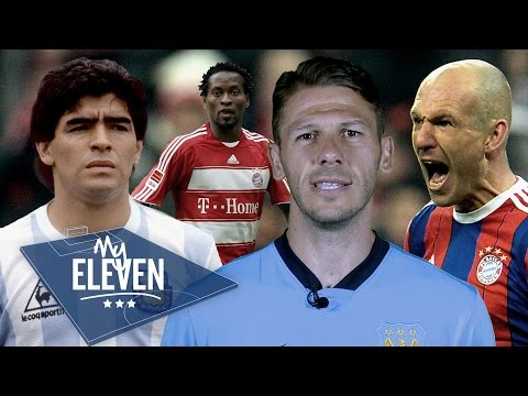 Martin Demichelis picks his greatest ever team | Maradona, Ze Roberto, Robben & more!