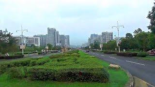 黃山市天都大道轉北海路往湯口路途 Huangshan (China)