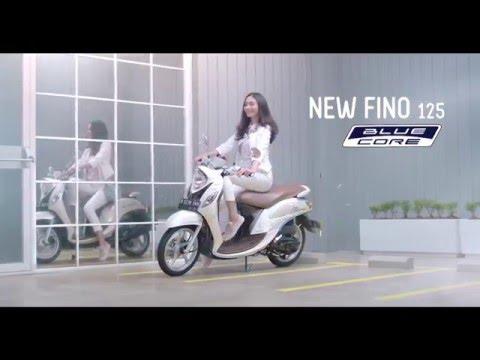 Bintang Iklan Yamaha New Fino 125 Blue Core