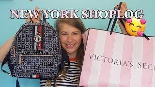 NEW YORK XL SHOPLOG!   Met oa Tommy Hilfiger, Victoria's Secret, EOS & meer!     Mila Malina
