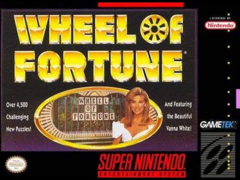 SNES Wheel of Fortune ORIGINAL RUN Game #28
