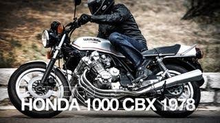 TEST RETRO   Honda 1000 CBX 1978