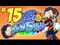 Super Mario Sunshine: The Cave in the Hill - PART 15 - Game Grumps