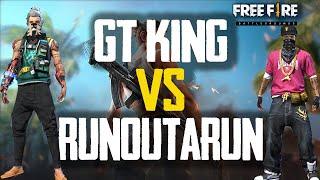 RUN GAMING VS GT KING [CLASH SQUAD]   FREE FIRE TRICKS AND TIPS    RUN GAMING TAMIL  #ROADTO1MILLION