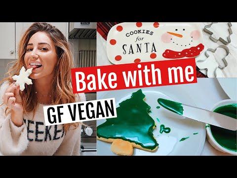 EASY VEGAN SUGAR COOKIES (Gluten Free)/ Vlogmas 2018