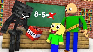 Monster School : NEW CLASSMATES BALDI'S SON CHALLENGE NEW EPISODE - Minecraft Animation