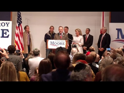 LIVE NOW: Roy Moore's Election Night Headquarters...
