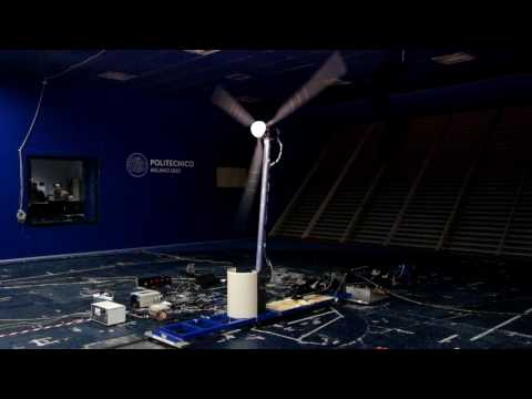 Floating Offshore Wind Turbines: Hybrid/HIL testing @ PoliMi