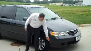 Used 2004 Honda Odyssey for sale at Honda Cars of Bellevue...an Omaha Honda Dealer!