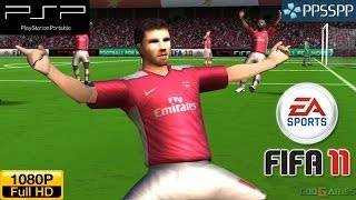 Fifa 11 - PSP Gameplay 1080p (PPSSPP)