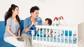 Cuối cùng Trường Giang Nhã Phương cũng chịu khoe ảnh gia đình 3 người,khiến fan vô cùng thích thú