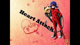 (AMV) Adrianette-LadyNoir [Heart Attack]