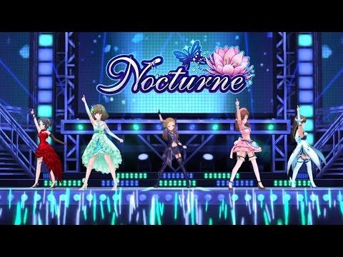 「デレステ」Nocturne (Game ver.) 標準メンバー 速水奏、高垣楓、松永涼、川島瑞樹、新田美波 SSR
