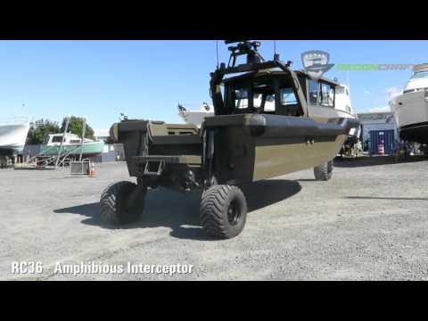 ReconCraft RC36 Amphibious