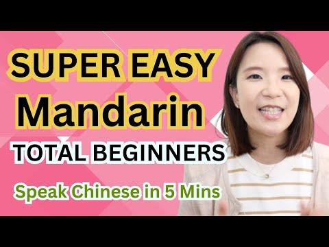 SUPER EASY Mandarin for Beginners 1 ( For Total Beginner's | HSK1 SMART Mandarin)