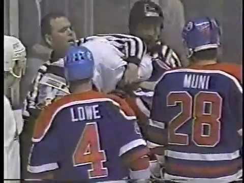 Oilers-Kings Brawls - Feb.28,1990