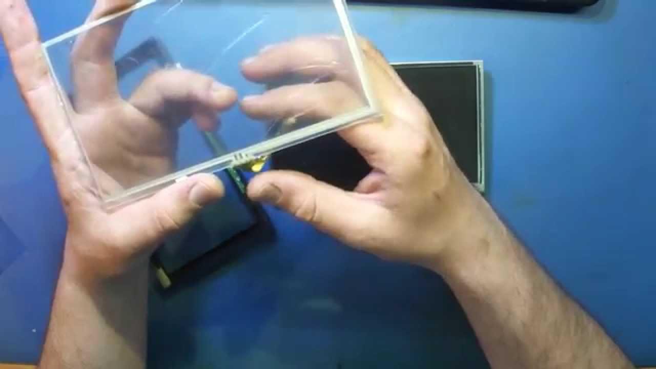 touch screen замена 3-точечный резистивный