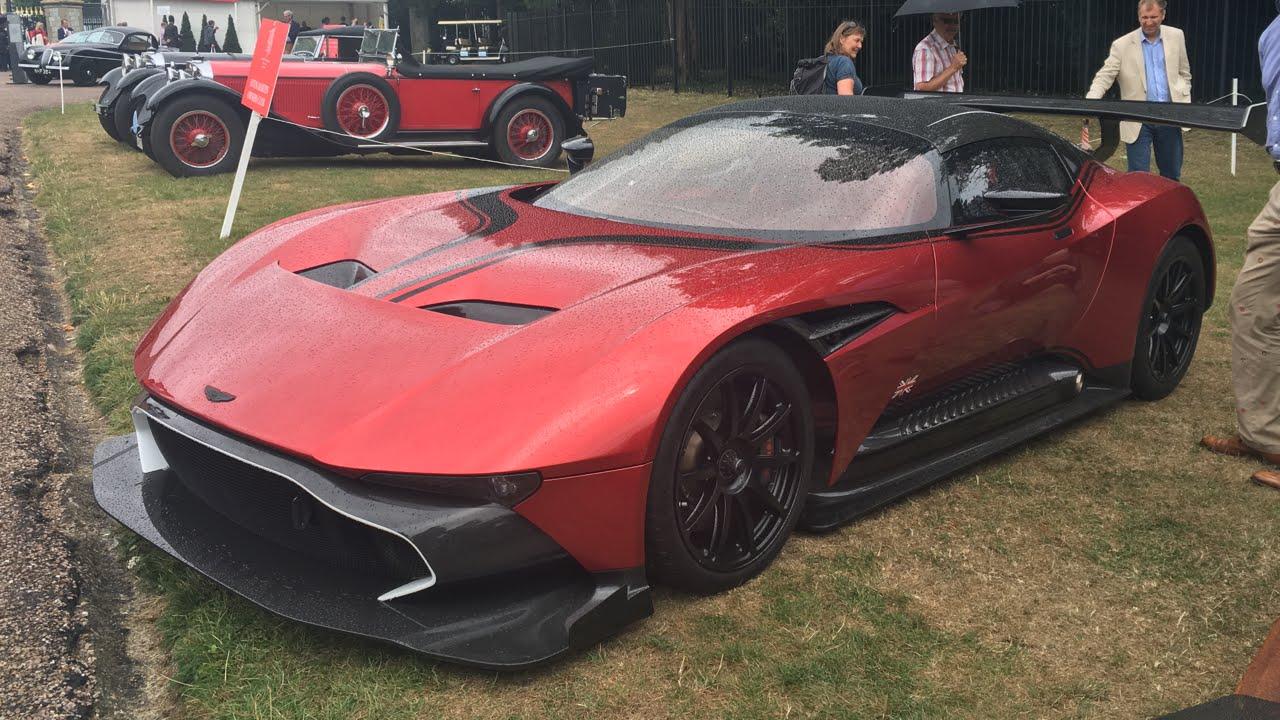 Aston Martin Vulcan Close Up Start Up Revs Interior Engine