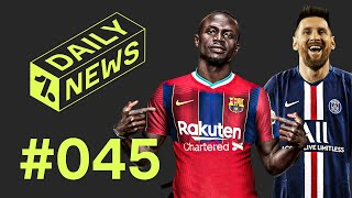 On today's daily news - neymar wants messi at psg, barcelona could turn to mane, leicester plan chilwell replacement, a transfer round up and friday feels! ►...