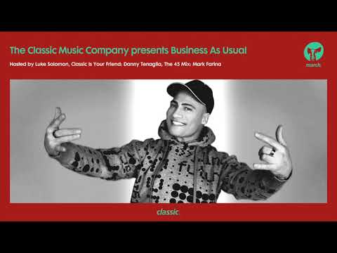 Business As Usual March 2019: Luke Solomon + Special Guest Mark Farina