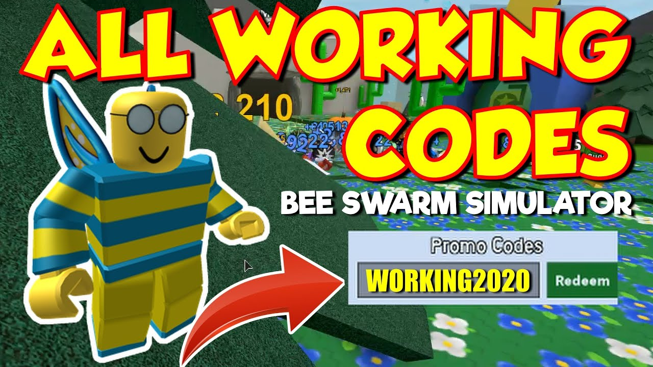 All Bee Swarm Simulator Codes 2020 Working Youtube