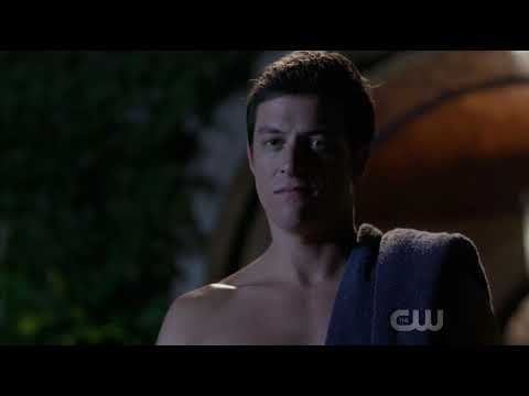 Dynasty 1x02 The Pool Scene (Steven x Sam)