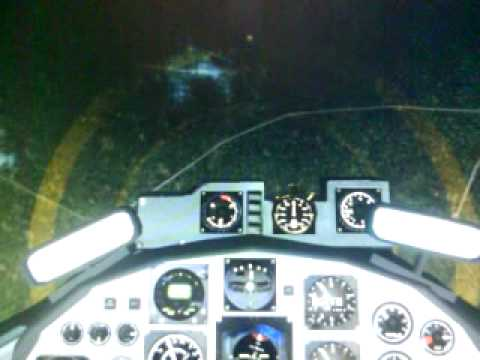 Embraer Super Tucano Sobrevolando SARI (A.I Cataratas del Iguazú)