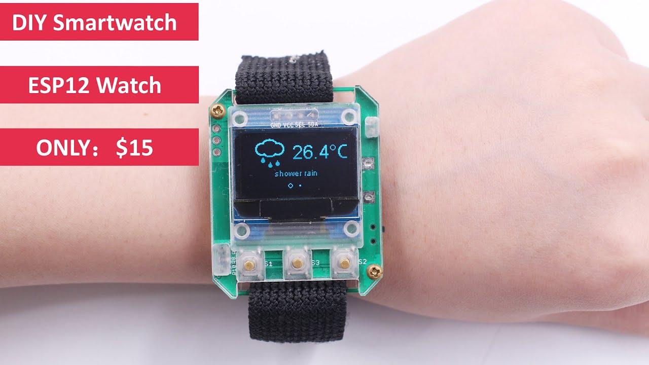 DIY ESP-Smartwatch: 4 Steps