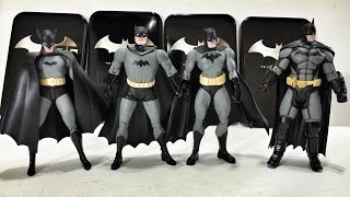 DC Collecitble: Batman 75th Anniversary Action Figure Four Pack
