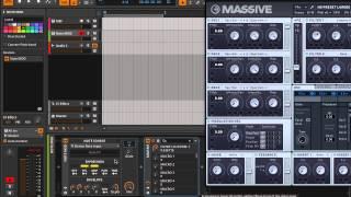 Bitwig Studio - пример модуляции (видео обзор от mmag.ru)