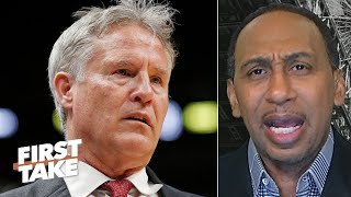 The 76ers have lost respect for Brett Brown - Stephen A. | First Take