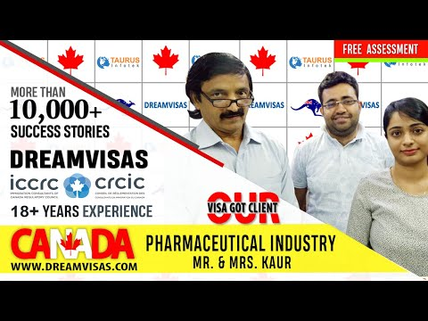 Our latest Canada PR visa clients from Pharma regulatory background with Manoj Palwe.