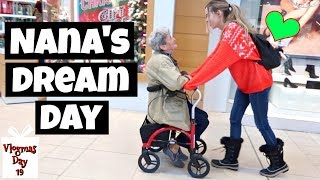 Living My 82 Year Old Nana's Dream Day | Vlogmas 19