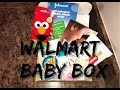 Free Walmart Welcome Baby Box Unboxing