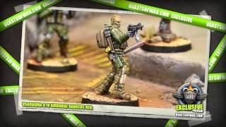 Infinity Sneak Peek - USAriadna 6th Airborne Rangers Reg.