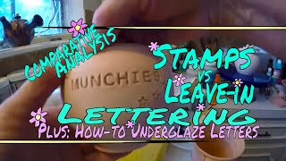 ♥ How to use plastic stamps or…