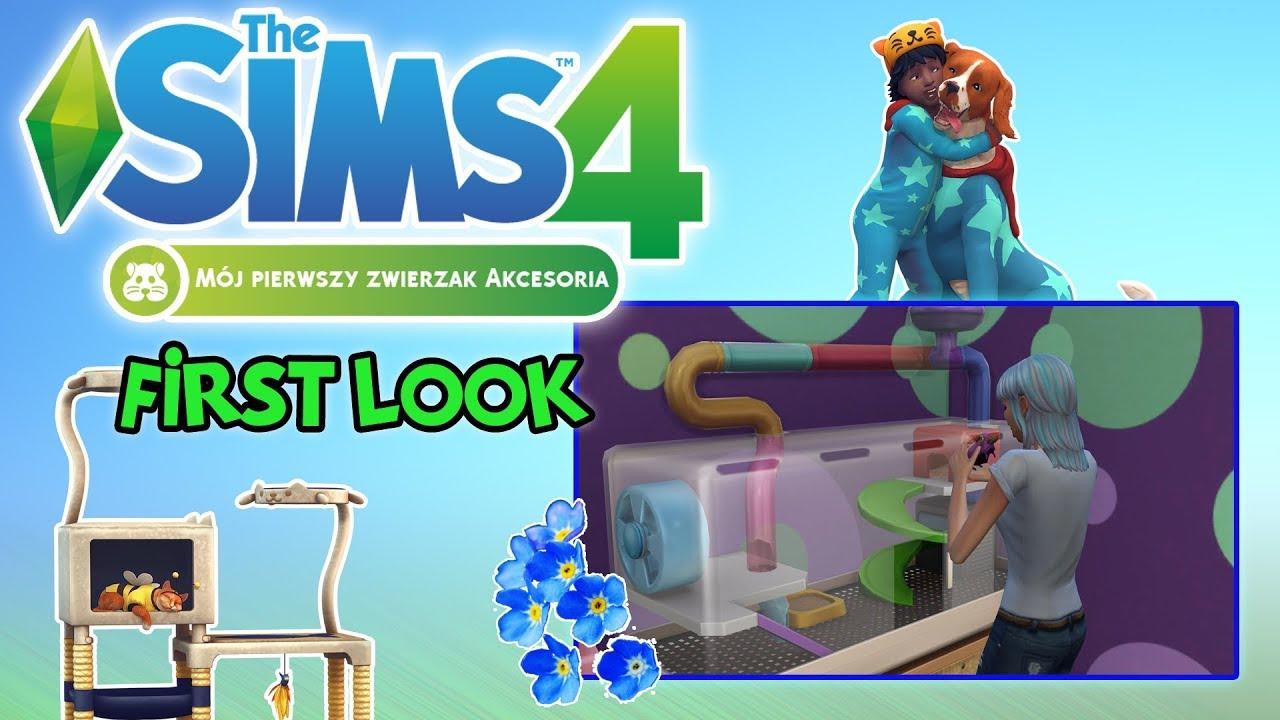 """First Look #83: The Sims 4: Mój Pierwszy Zwierzak – """"Bawolus?"""" [PL]"""