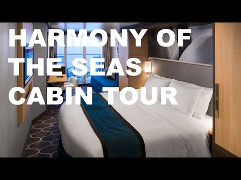 Harmony of the Seas Cabin Tour: Superior Oceanview with Balcony