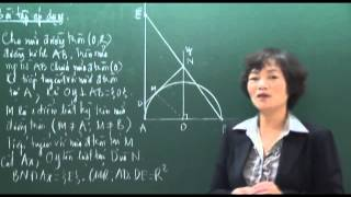 Mở đầu về Chuyên đề Đường tròn - phần 4 - Toán 9