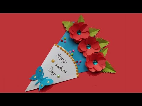 Teachers Day Pen Gift Card । Gift for Teachers Day 2019 । Pen Wrapping Ideas